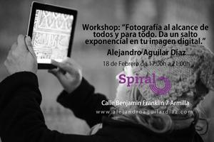"""Workshop """"Fotografía al alcance de todos y para todo...."""