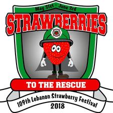 Lebanon Strawberry Festival logo