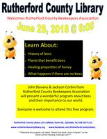 Rutherford County Bee Keepers Association