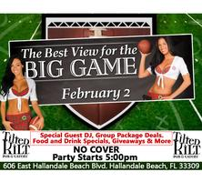 SUPER BOWL WATCH PARTY at TILTED KILT Pub & Eatery...