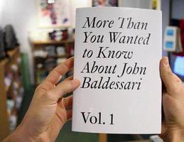 Artists Read Baldessari