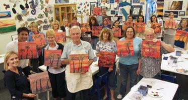 Red Brick Wine Tasting-Painting Party