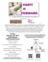 """Party it Forward"" Bridal Show"