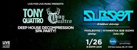 L4LM Presents: Deep House Decompression Spa Party