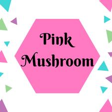 Pink Mushroom Accessories  logo