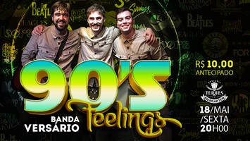 90's Feelings Banda Versário