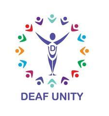 Deaf Unity logo