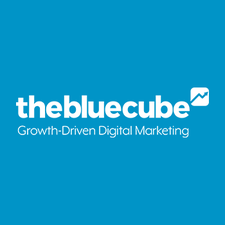 The Blue Cube logo