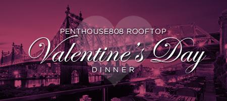 Friday - Valentine's Jazz Dinner at Penthouse808...