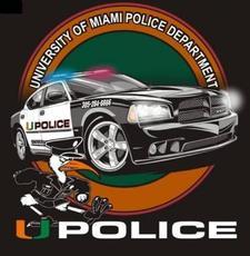 University of Miami Police Department logo