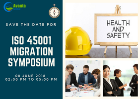 ISO 45001 MIGRATION  SYMPOSIUM - 08 JUNE 2018