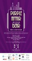 Purple Affair for the Bear: With a 1920's Flair