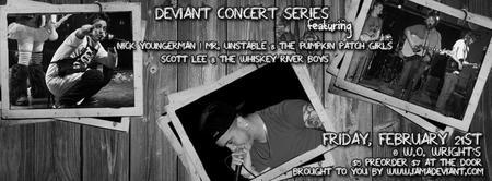 """""""Deviant"""" Concert Series"""