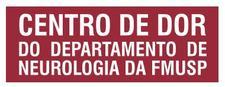 Centro de Dor do Departamento de Neurologia do Hospital das Clínicas da FMUSP logo