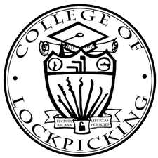 College of Lockpicking logo