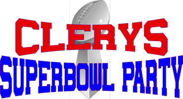 Clerys Superbowl Party