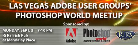 #LVAdobe Users Welcome Photoshop World Meetup