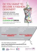 Inspirational YOU - Fashion course - Led by designer...