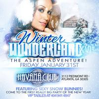 Winter Wonderland at Havana Club: Friday Jan 31