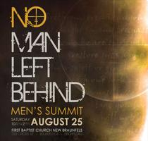 No Man Left Behind - Men's Summit