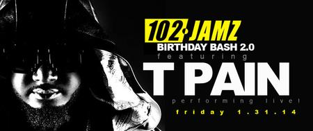 102 JAMZ BIRTHDAY BASH 2.0