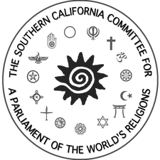 Southern CA Committee for a Parliament of World's Religions (SCCPWR) logo
