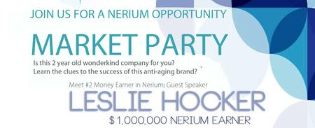 NERIUM MARKET PARTY - BATON ROUGE
