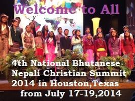 4th National Bhutanese- Nepali Christian Summit 2014