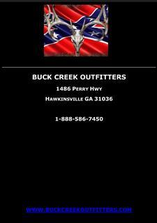BUCK CREEK OUTFITTERS logo