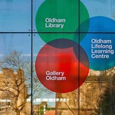 Oldham Libraries logo