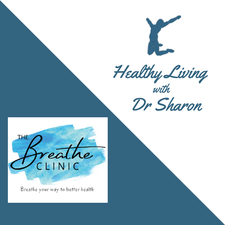 The Breathe Clinic and Healthy Living with Dr Sharon logo