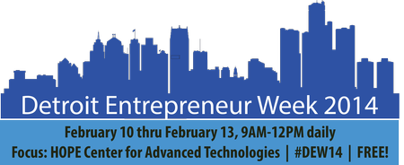 Detroit Entrepreneur Week 2014