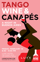 Tango & Wine in Buenos Aires  (Luxe Hotel on Sunset)