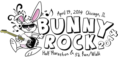 Bunny Rock Chicago 5k and Half Marathon Volunteer Sign...