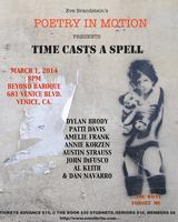 Poetry in Motion Presents: Time Casts a Spell (March 1...