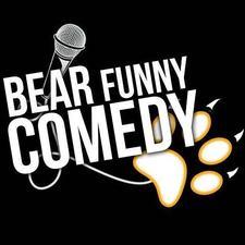 BEAR FUNNY COMEDY logo