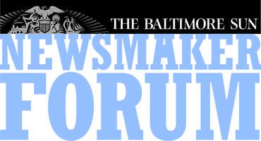 Sun Newsmaker Forum: An Evening with Gubernatorial...