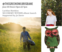 "Lachlan Hawkins ""No Enemy Within"" Album Launch"