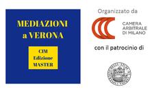 Camera Arbitrale di Milano - Università degli Studi di Verona logo