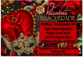 Singles Valentine's Day Masquerade Ball