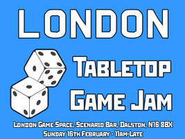 The First London Game Space Tabletop Game Jam!