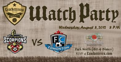 Scorpions Watch Party vs FC Edmonton
