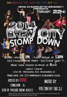 2014 Brew City STOMP DOWN & After-Party