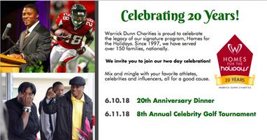 Warrick Dunn Charities 20th Anniversary Celebration...