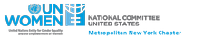 Metropolitan New York Chapter of the U.S. National Committee for UN Women logo
