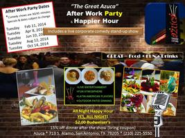 Azuca's After Work Party and Meetup