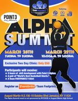 Team FOOTPRINTZ presents a 2 Day ALPHA SUMMIT powered by...