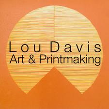 Lou Davis Art and Printmaking logo