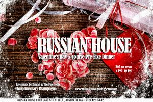 Valentine's Day at Russian House