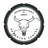 Archaeological Society of Alberta - Edmonton Centre logo